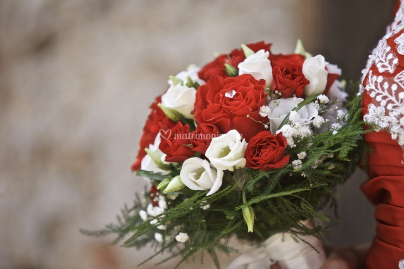 Bouquet rosso passione