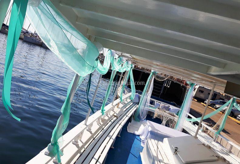 Matrimonio In Barca : Matrimonio in barca di special days foto