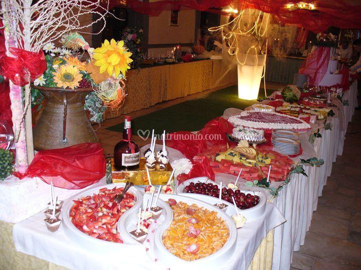 Gran Buffet dei dolci e della frutta