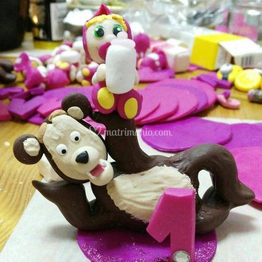 Cake topper / bomboniere