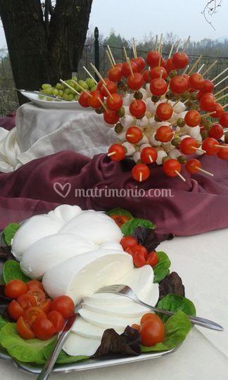 Buffet degli aperitivi