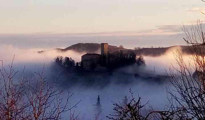 L'alba al Castello