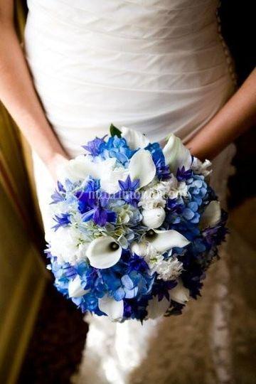 Bouquet di Calle ed Ortensie