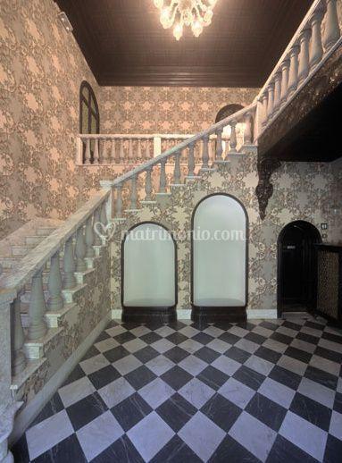 Dettaglio interno villa