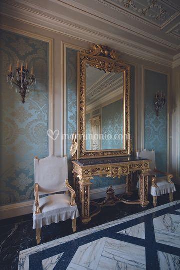 Interno Villa Marigola