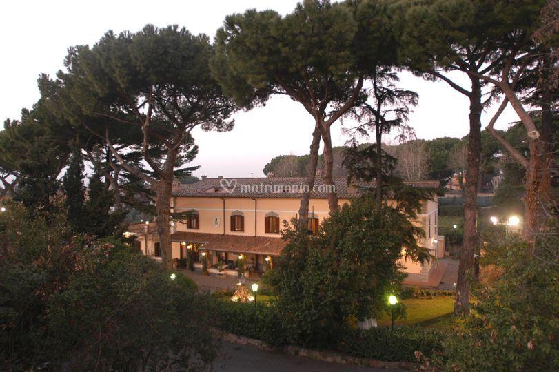 Esterno Villa Icidia