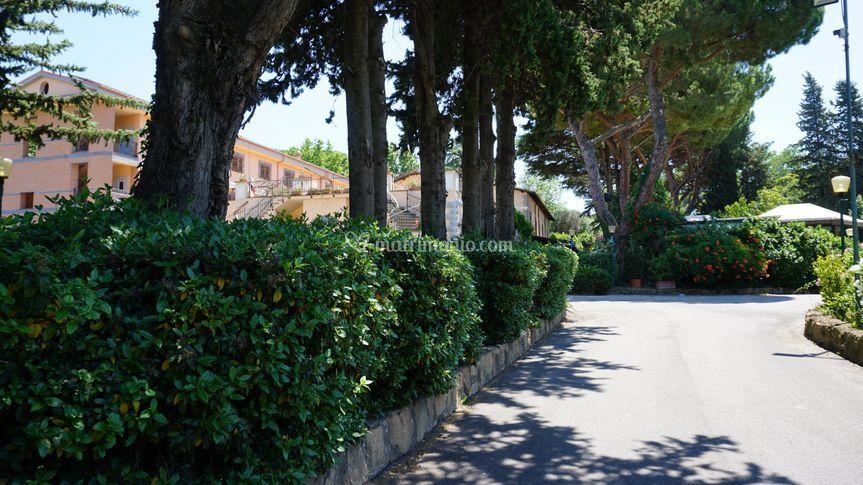 Ingresso Villa Icidia