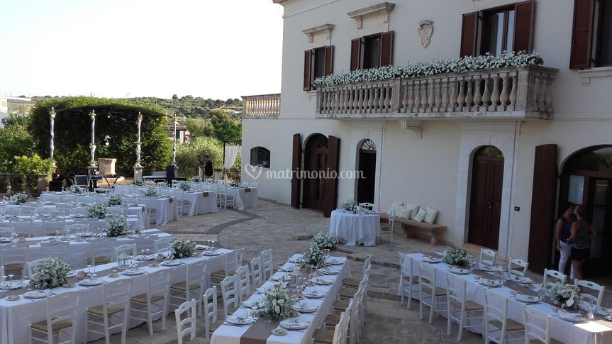 Matrimonio in residenza privat