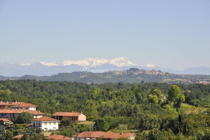 Panorama: Monte Rosa