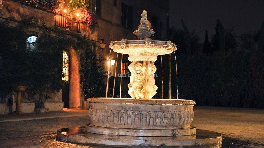 La fontana della corte