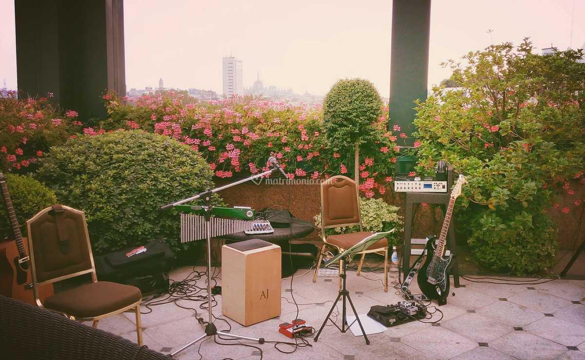 Terrazza Westin Palace Milano Di Jam Acoustic Trio Foto 11