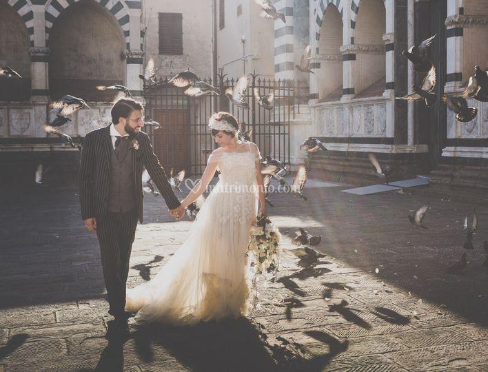 Foto di nozze a Firenze