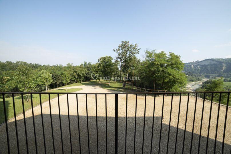 Visuale del parco