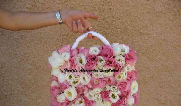 Bouquet a borsa
