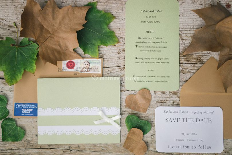 Invitation and cards