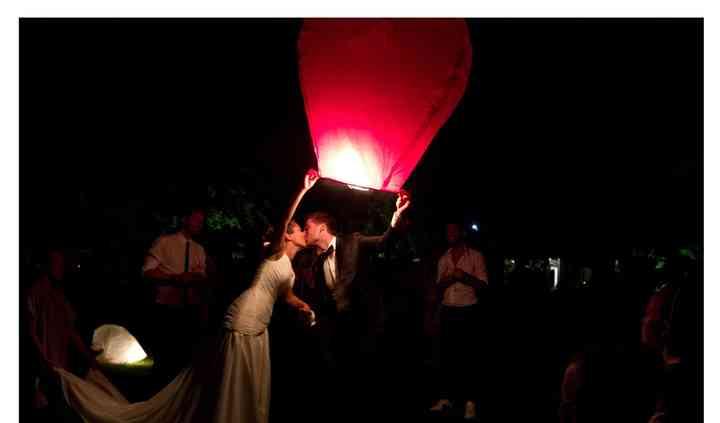 Il lancio delle lanterne