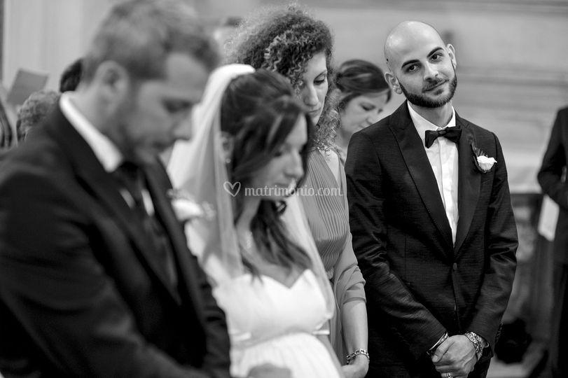 Matrimonio - La commozione