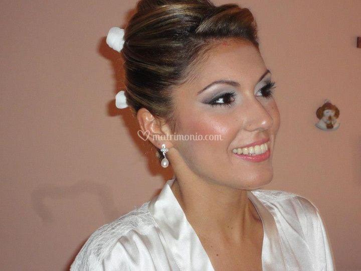 Valentina make up sposa
