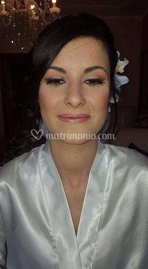 Lucia Palmieri Make Up Weddint