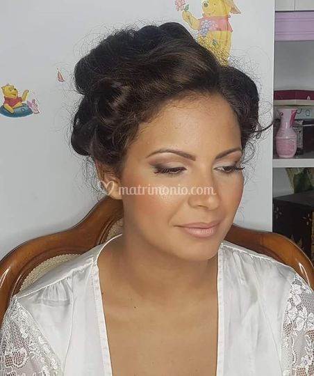 Lucia Palmieri Make Up Wedding