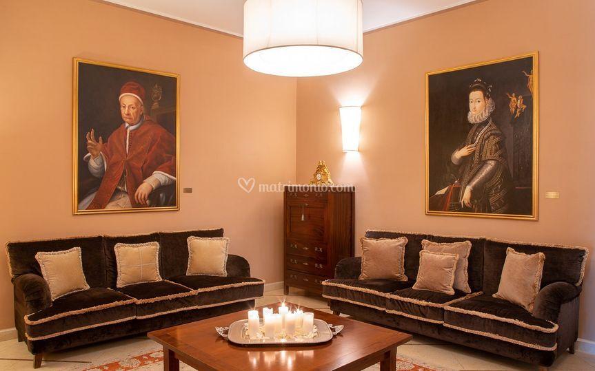 Villa Orsini salotti