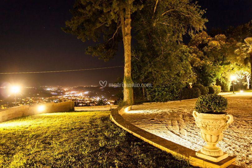 Panorama su Tolentino