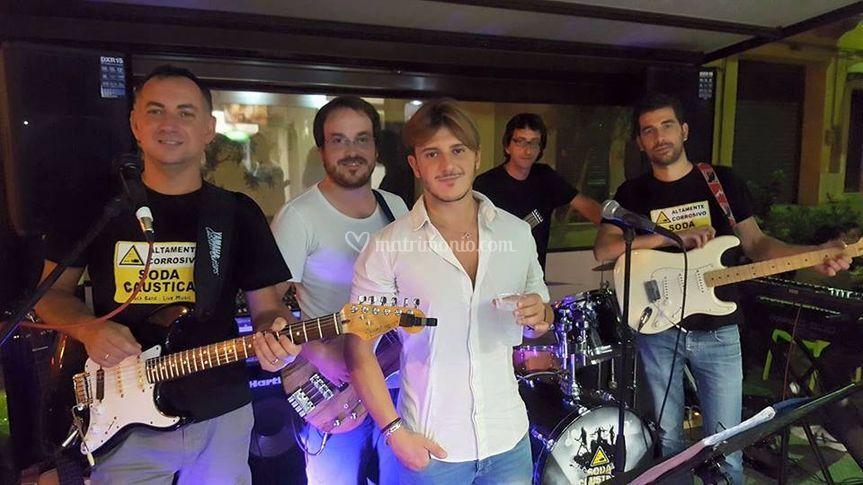 La band Sodacaustica 2017
