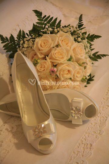 Bouquet Rose Panna