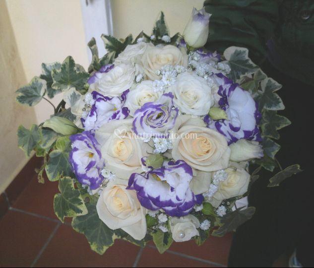 Bouquet con Lisianthus