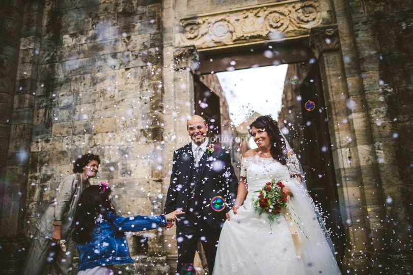San Galgano wedding photograph