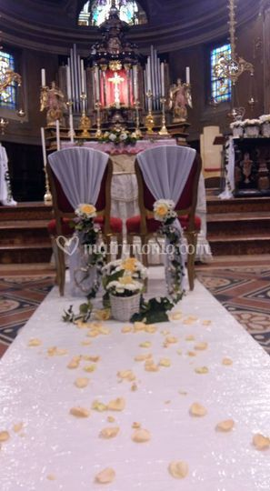 Passatoia e sedute sposi