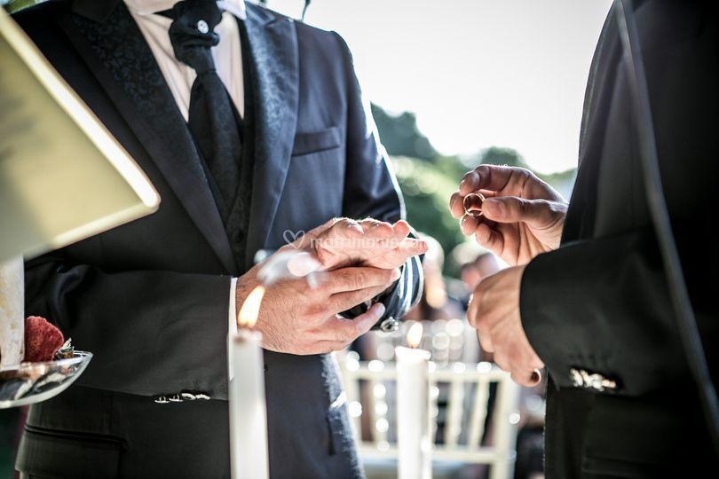 Dettaglio sposi