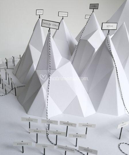 Tableau origami