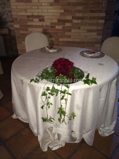 Sfera tavolo sposi