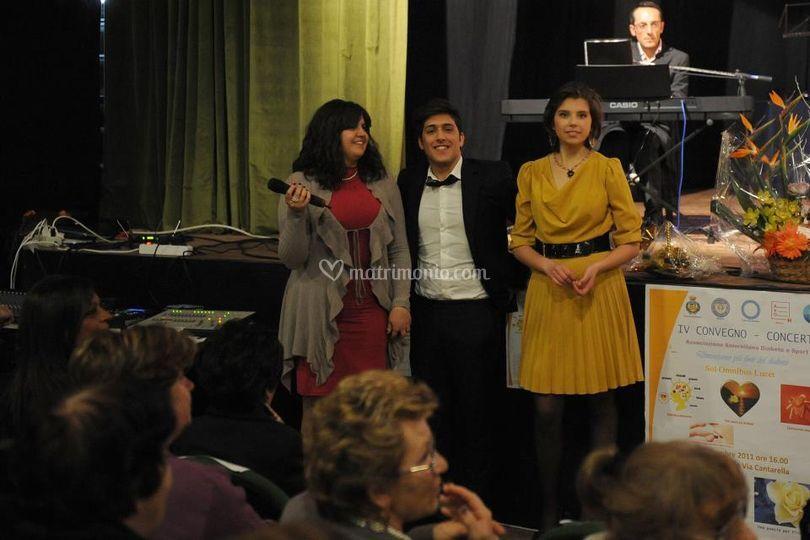 Concerto con l'Onorevole Mara Carfagna ed il Sindaco di Salerno De Luca