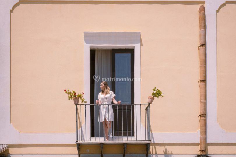 Vista della camera degli sposi