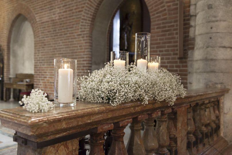 Allestimento Balaustra Chiesa