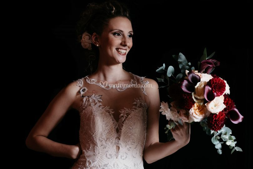 Wedding S&G Polj Bouquet