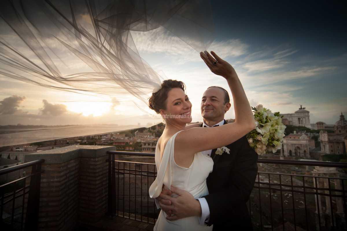 Momenti magici di matrimonio