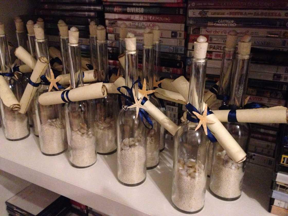 Partecipazioni Matrimonio Bottiglia.Partecipazioni In Bottiglia Di Odile Creazioni Foto 1