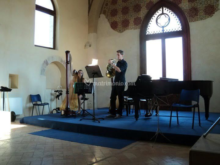 Concerto ad Assisi in duo