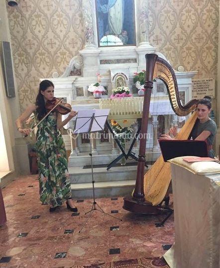 Arpa e Violino 31-08-19