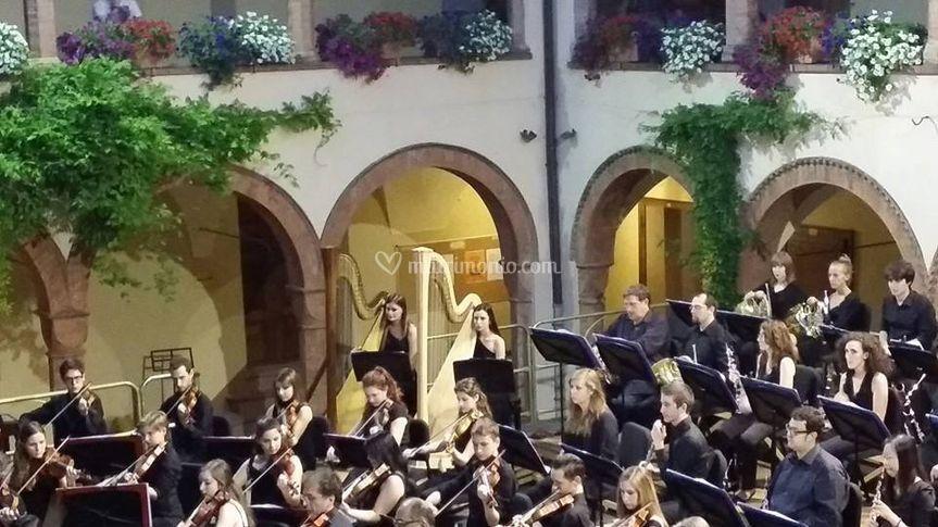 Concerto Parma con orchestra