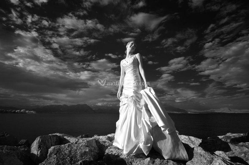 Fotografia sposa Desenzano