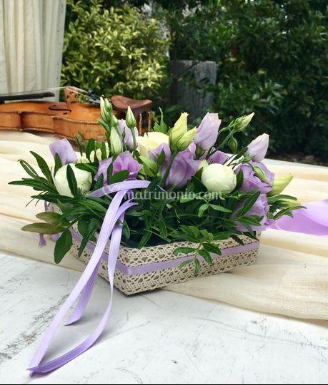 Cuscino fedi floreale