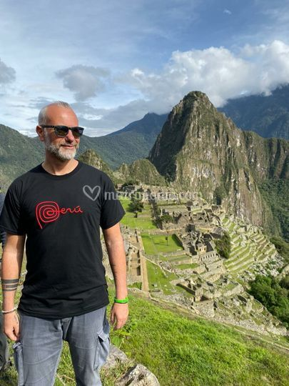 Macchu Picchu selfie