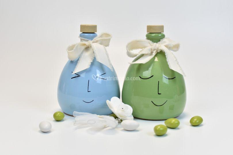 Bottiglie in terracotta