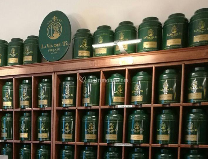 Tè e infusi La Via del Tè