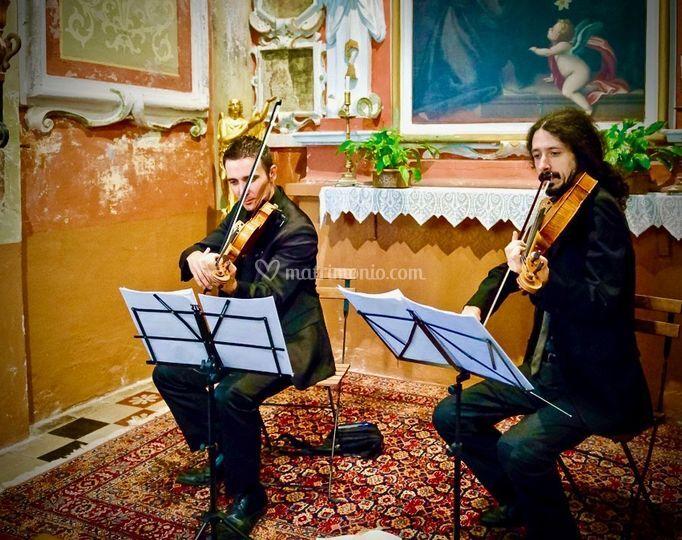 Violino Viola Rito Religioso