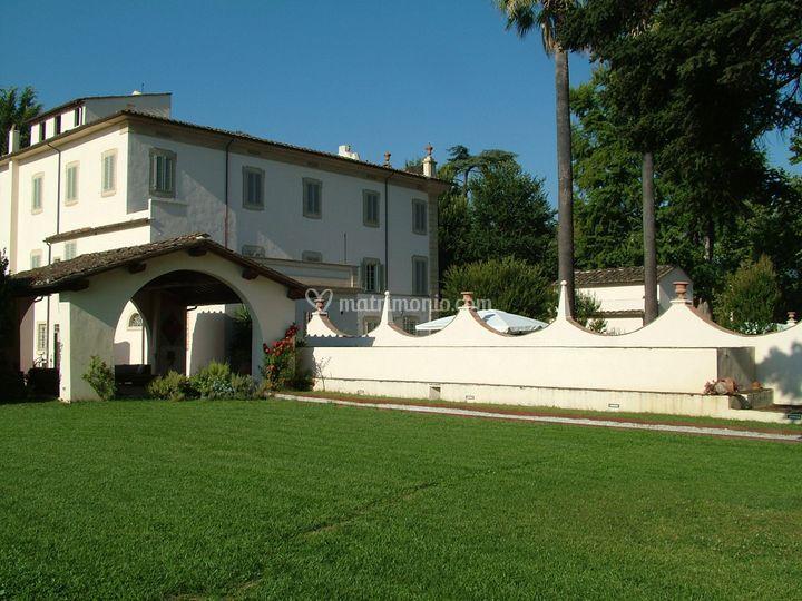 Il portioco e la villa
